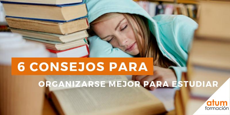 Organizarse mejor para estudiar